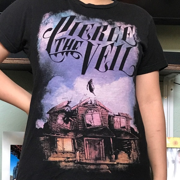Hot Topic Tops Pierce The Veil Collide With The Sky Band Tee Poshmark